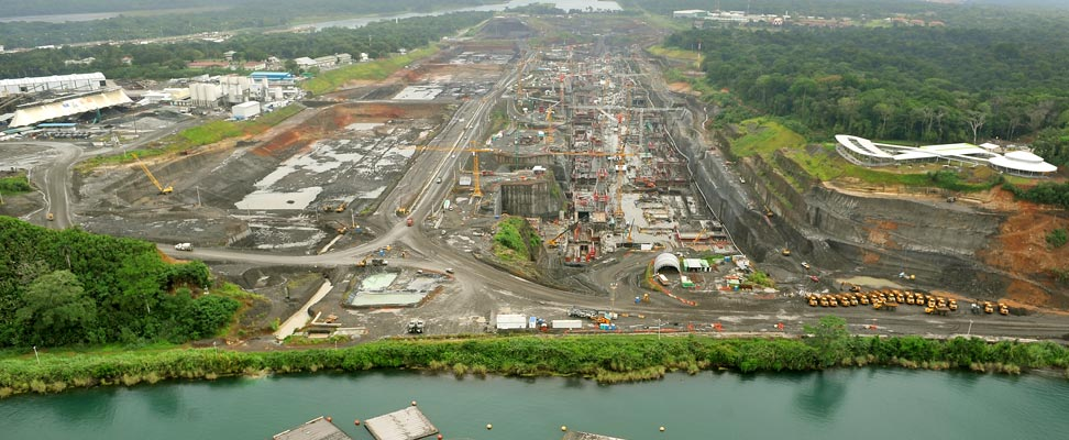 Erweiterung des Panamakanals